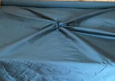 """DELUXE SMOOTH SILK ` 54"""" Wide SLATE TEAL cut from roll half metre price"""