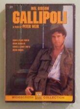 mel gibson GALLIPOLI    DVD NEW  large shrinkwrap chunk missing