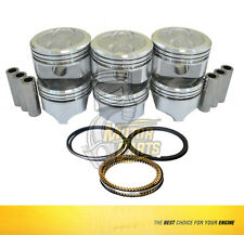 Piston & Ring Kit Fits Chevrolet GMC Astro G10 C1500 4.3 L TBI - PR055 -SIZE STD