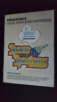 SPACE SPARTANS - INTELLIVOICE - VINTAGE 1982 INTELLIVISION VIDEO GAME - COMPLETE