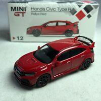1/64 TSM MINI GT Honda Civic Type R FK8 Rallye Red RHD Available
