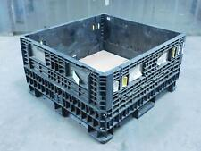 Ropak Heavy-Duty Collapsible Bulk Container Pallet Box 48x45x24