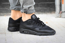 NIKE AIR MAX 1 ULTRA FLYKNIT MENS TRAINERS U.K SIZE 9.5 EUR 44.5 856958001 BLACK