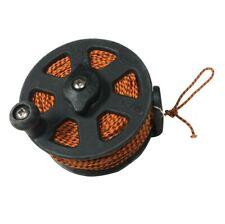 Rob Allen Reel Koah RSC 60m Powercore Line for Spearfishing Orange/Black 197ft