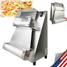 370w Automatic Pizza Making Machinedough Roller Sheeter Machine Tilt Entrance