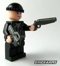 Brickarms Sawed-Off Shotgun for Lego Minifigures 5 Pack Black