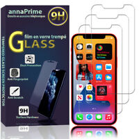 "3 Filme Glas Sicherheits- Schild Apple IPHONE 12 6.1 "" A2403 A2172 A2402"