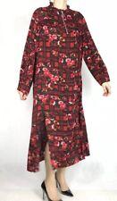 ASOS Womens Full Length Red/Black Smock Dress Size 16 UK VGC