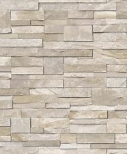 3D pizarra ladrillo realista wallpaper Lavable entrega gratuita de piedra arenisca