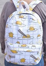 "Gudetama lots egg mix 15"" backpack shoulder bag school bags  UT206 vivid new"