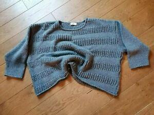Pullover oversize, grau, Nook, Lagenlook