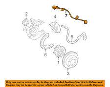 GM OEM ABS Anti-lock Brakes-Front Speed Sensor 19181882