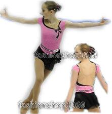Ice Figure Skating Dress Baton Twirling Gymnastics Dance Dress Competition xx116