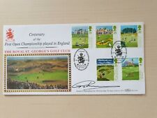 More details for benham first day cover signed by greg norman 1994 golf cover