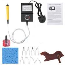 Kit 25W Pirografo Professionale Per Incisione Legno/Cuoio e Punte e Sostegno
