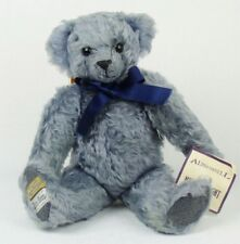Rare Limited Edition Alpha Farnell Replica Lavender Blue Merrythought Teddy Bear