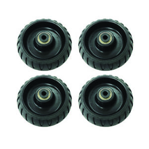 4 Pack Stryker Stretcher Cot Wheels MXPro, Bariatric, 6500, 6082, 6090, EMS EMT