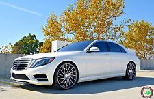 "22"" RF16 STAGGERED WHEELS RIMS FOR MERCEDES S CLASS W222 S550 2014 -PRESENT"