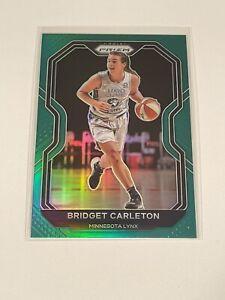 2021 WNBA Prizm Bridget Carleton Green #16 Prizm Minnesota Lynx