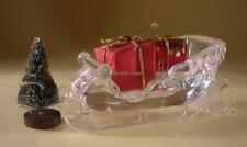 SWAROVSKI CRYSTAL SLEIGH 205165 MINT BOXED RETIRED RARE