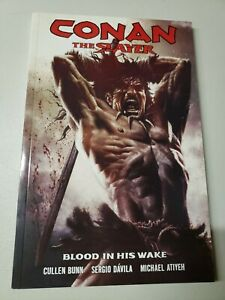 Conan the Slayer Volume 1 Blood In His Wake TPB Cullen Bunn 2017 Dark Horse New