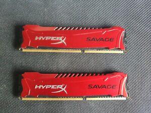 Kingston HyperX Savage 8GB, PC3-12800 (DDR3-1600), DDR3 SDRAM, 1600 MHz, DIMM