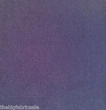 Lavender Blue Thick Hardwearing Velour Fire Retardent Upholstery Fabric Material