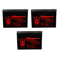 Schwinn S1000 12V 10Ah Replacement Electric Scooters SLA Battery - 3 Pack