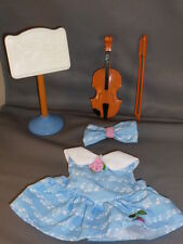 FISHER PRICE Briarberry Briarwear Music dress headband violin bow stand set
