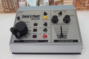 MRC Model 7000 Sound & Power DC Transformer For N,HO & G Scale