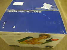 New Epson Stylus Photo RX500 All-In-One Inkjet Printer
