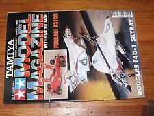 $$$ Revue Tamiya Model Magazine N°34 Ferrari F310BDouglas F4D-1 Skyray