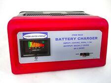 2/6 Amp, 6/12V Manual Battery Charger 110 Volt