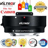Viltrox EF-EOS M Lens Mount Adapter for Canon EF EF-S Lens to Canon EOS Cameras