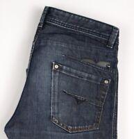 Diesel Hommes Darron Droit Jambe Jeans Standard Taille W32 L34 ASZ1577