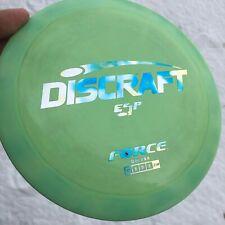 Discraft Super Swirly Esp Force Overstable Distance Driver Disc Golf Disc!