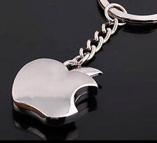 Modernist Apple Pendant Key Ring Key Chain ( Keyring Keychain )