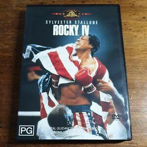 Rocky 4 IV DVD R4 LIKE NEW FREE POST
