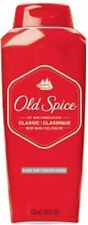 Old Spice Men's Body Wash Classic Scent Dirt & Odor Relief 18 fl oz (Pack of 12)