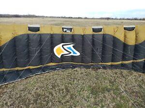 Lightwind foil kite Flysurfer Speed 2 Deluxe 19m  Depower Foil/Snow kite