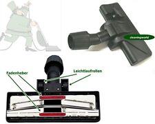 Kombidüse, 2 Gleitrollen für Teppich & Hartböden für AEG-Elektrolux Staubsauger