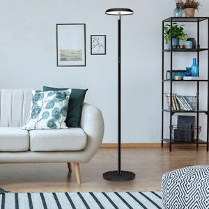 Modern Dimmable LED Floor Lamp Adjustable Reading Light Living Room Bedroom UK