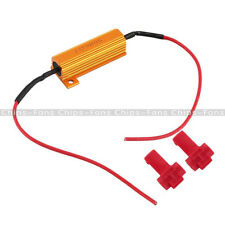 New LED Load Resistor Warning Decoder 5W-50W With Two Cancellers For 12V Cars