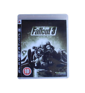 Fallout 3 (Sony PlayStation 3, 2008) - complete with manual