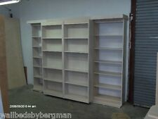 Murphy Library Bed Queen Size Cabinet Construction Plans Pics Metal & Hardware