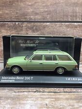 New ListingMinichamps 1/43 1980-1985 Mercedes Benz 200 T W123 - Green - Boxed