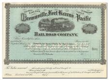 Brownville, Fort Kearny and Pacific Rail Road Company (Nebraska)