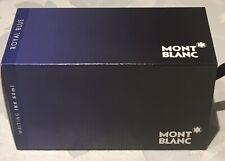 Totalmente Nuevo Y Sellado Mont Blanc-Estilográfica Tinta para escribir-Azul Real - 60ml