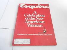 JUNE 1984 ESQUIRE mens fashion magazine AMERICAN WOMAN