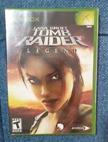 Lara Croft: Tomb Raider -- Legend (Microsoft Xbox, 2006)